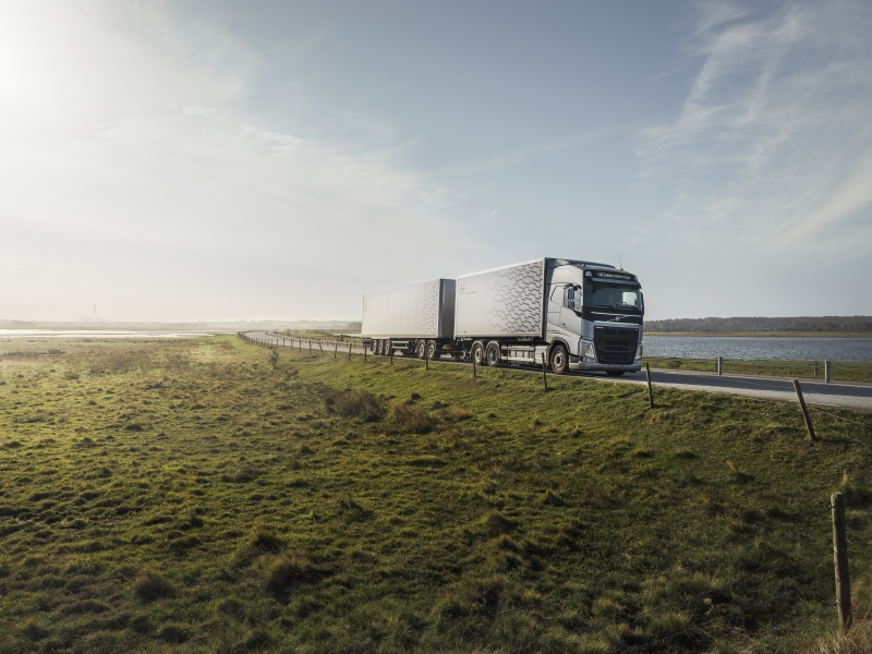 A Volvo Selected used truck