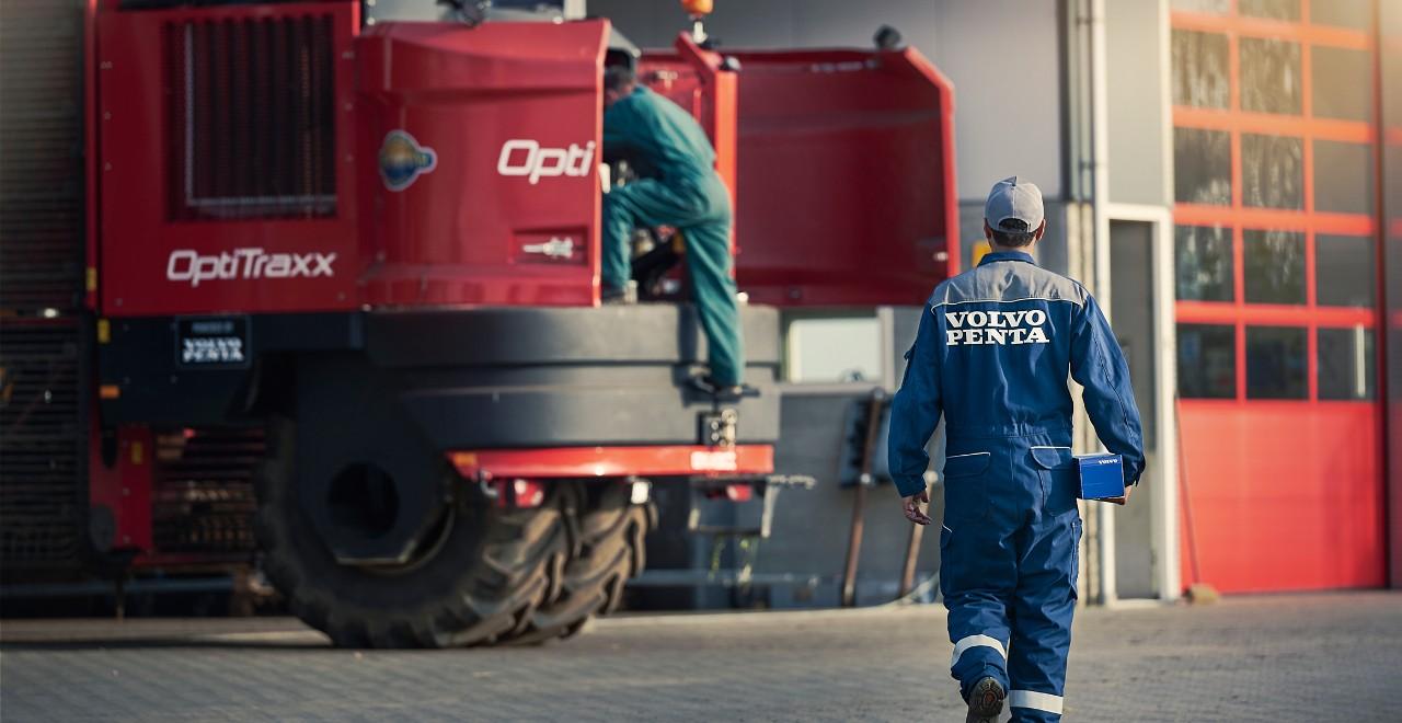 Volvo Marine & Industrie Center voor al uw Volvo Penta motoren