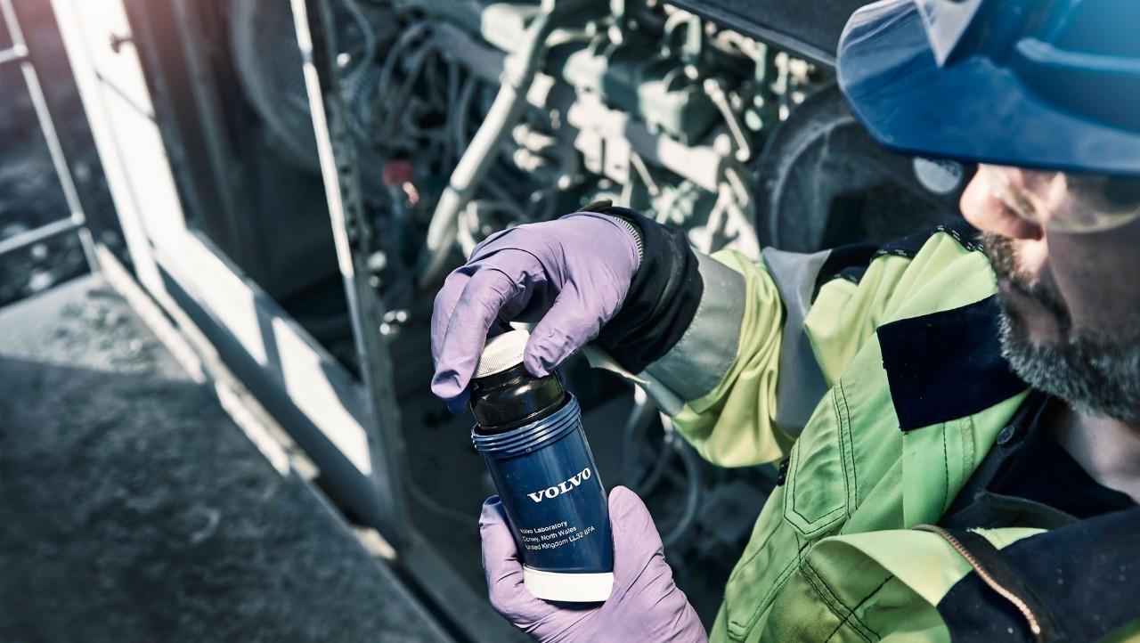Volvo Penta olieanalyse